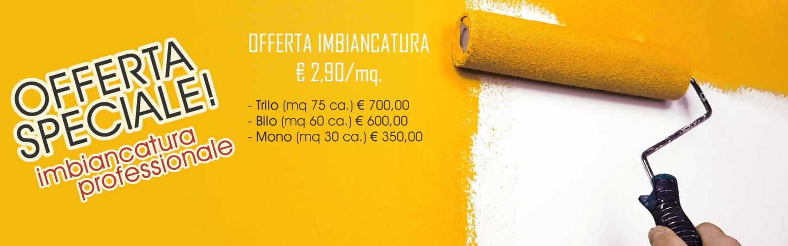 Offerta imbiancatura Milano